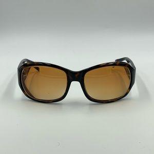 Anne Klein Tortoise Oval Sunglasses Frames